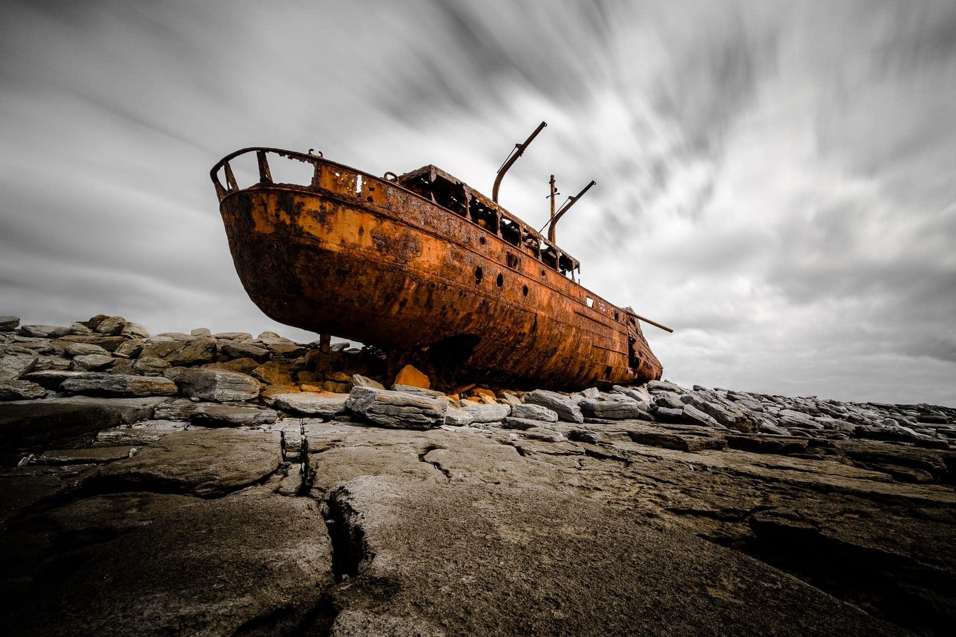 Geisterschiff - Plassey shipwreck