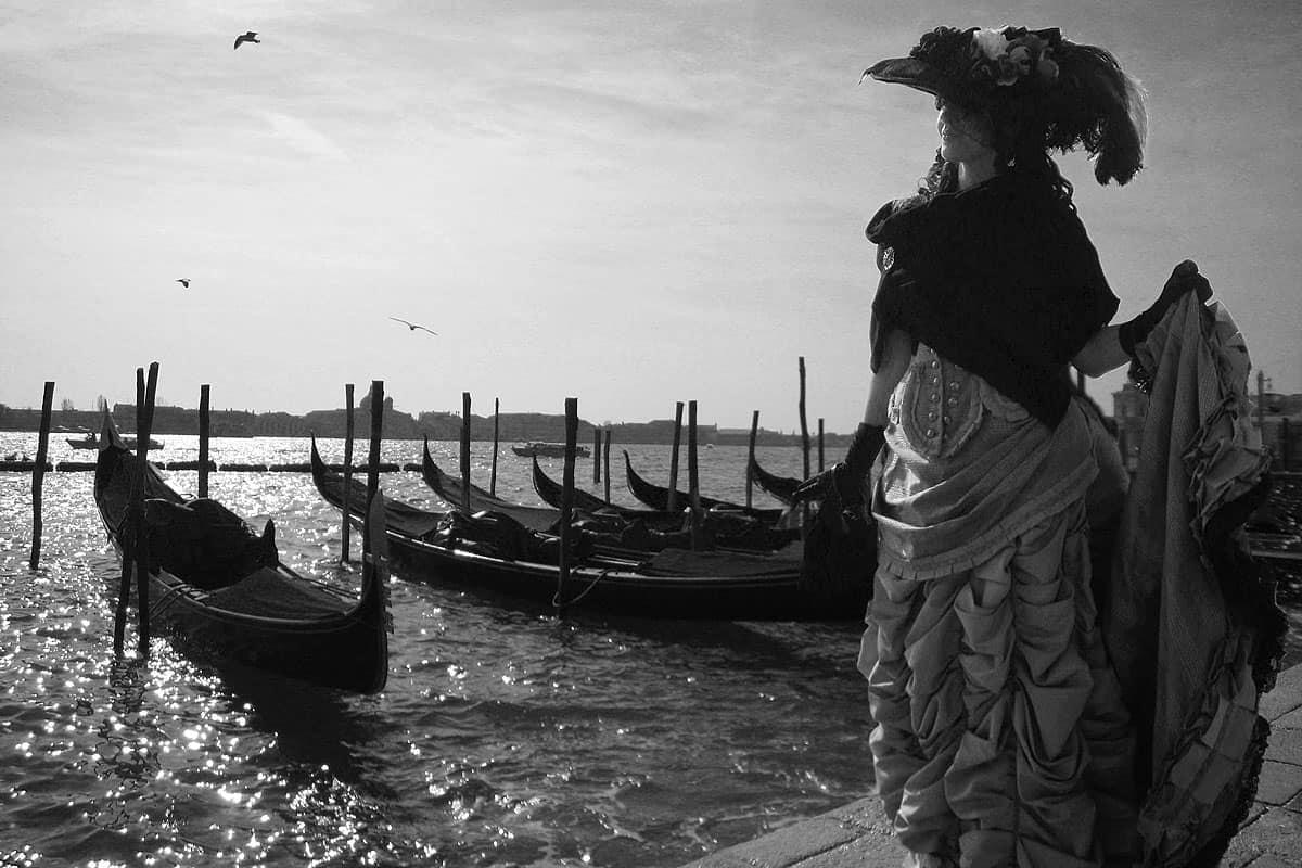 Gondula Venezia